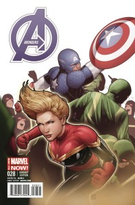 AVENGERS #28 CAPTAIN AMERICA TEAM UP VAR