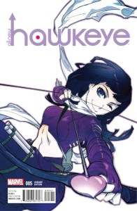 ALL NEW HAWKEYE #5 MANGA VAR