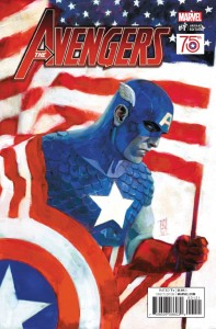 AVENGERS #1 CAPTAIN AMERICA 75TH ANNIVERSARY VAR NOW