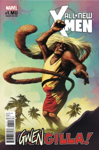 ALL NEW X-MEN #1.MU GWENSTER UNLEASHED VAR