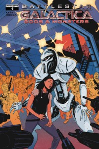BATTLESTAR GALACTICA GODS & MONSTERS #2 CVR A MORGAN