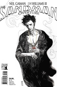 SANDMAN OVERTURE #1 (OF 6) BLACK & WHITE VAR ED A