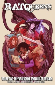 RAT QUEENS TP VOL 02 FAR REACHING TENTACLES OF N'RYGOTH