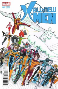 ALL NEW X-MEN #2 LEE VAR
