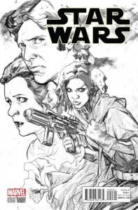 STAR WARS #9 IMMONEN SKETCH VAR