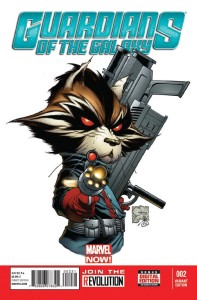 GUARDIANS OF GALAXY #2 QUESADA VAR NOW