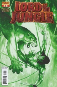 LORD OF THE JUNGLE #5 RENAUD JUNGLE GREEN RI CVR