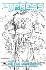 EMPRESS #1 (OF 7) IMMONEN SKETCH VAR (stan VF)