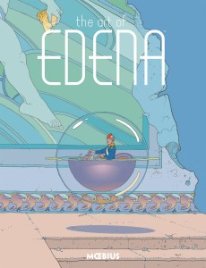 MOEBIUS LIBRARY ART OF EDENA HC