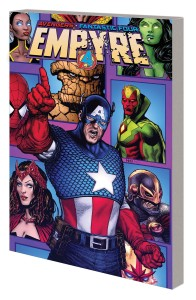 EMPYRE CAPTAIN AMERICA AND AVENGERS TP