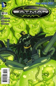 BATMAN INCORPORATED #10 VARIANT EDITION