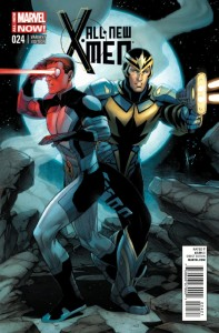 ALL NEW X-MEN #24 KEOWN VAR