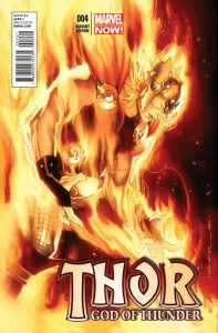 THOR GOD OF THUNDER #4 COIPEL VAR VF