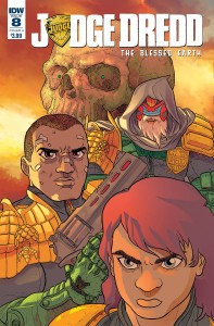 JUDGE DREDD BLESSED EARTH #8 CVR A FARINAS