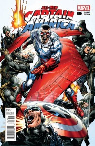 ALL NEW CAPTAIN AMERICA #3 N ADAMS VAR