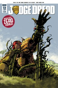 JUDGE DREDD (ONGOING) #12 SUBSCRIPTION VAR