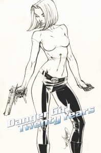 J SCOTT CAMPBELL DANGER GIRL 20TH ANNIV 5 COPY INC