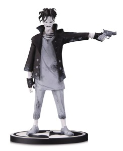 BATMAN BLACK & WHITE THE JOKER STATUE BY GERARD WAY