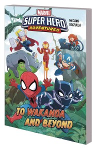 MARVEL SUPERHERO ADVENTURES TP TO WAKANDA AND BEYOND