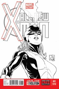 ALL NEW X-MEN #1 QUESADA SKETCH VAR NOW