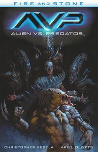 Fire and Stone Tom 3 Alien vs. Predator