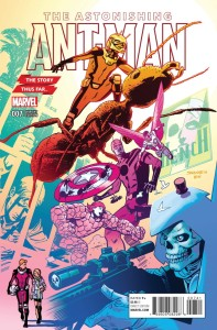 ASTONISHING ANT-MAN #7 SAMNEE STORY THUS FAR VAR (STAN VF)