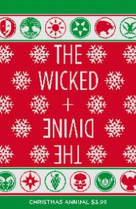 WICKED & DIVINE CHRISTMAS ANNUAL #1 CVR A MCKELVIE & WILSON (ONE SHOT)