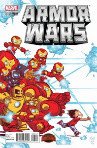 ARMOR WARS #1 YOUNG VAR