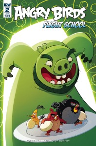 ANGRY BIRDS FLIGHT SCHOOL #2 SUBSCRIPTION VAR