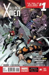 ALL NEW X-MEN #22.NOW 50TH ANNIV IMMONEN POSTER VAR