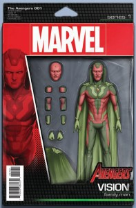 AVENGERS #1 CHRISTOPHER ACTION FIGURE VAR