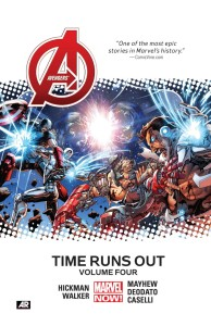 AVENGERS TIME RUNS OUT PREMIERE HC VOL 04