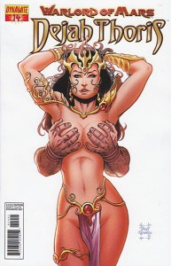WARLORD OF MARS DEJAH THORIS #14 35 COPY RISQUE INCV