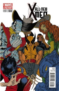 ALL NEW X-MEN #25 GRAMPA VAR