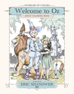 WOLRDS OF COLOR WELCOME TO OZ ADULT COLORING BOOK TP