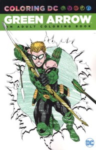GREEN ARROW AN ADULT COLORING BOOK TP