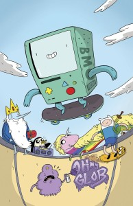 ADVENTURE TIME #63 SUBSCRIPTION NAUJOKAITIS CVR