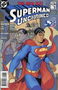 SUPERMAN UNCHAINED #2 75TH ANNIV VAR ED MODERN AGE