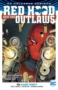 RED HOOD & THE OUTLAWS TP VOL 01 DARK TRINITY (REBIRTH)