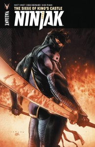 NINJAK TP VOL 04 SIEGE OF KINGS CASTLE