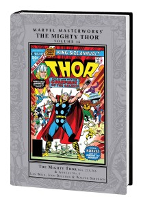 MARVEL MASTERWORKS MIGHTY THOR HC VOL 16