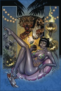 TAROT WITCH OF THE BLACK ROSE #124 ALT PATHS BOO CAT
