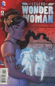 LEGEND OF WONDER WOMAN #2 (OF 9) 2ND PTG