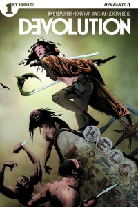 DEVOLUTION #1 (OF 5) CVR A LEE