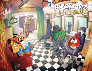 ANGRY BIRDS COMICS GAME PLAY #3