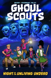 GHOUL SCOUTS TP NIGHT OF THE UNLIVING UNDEAD