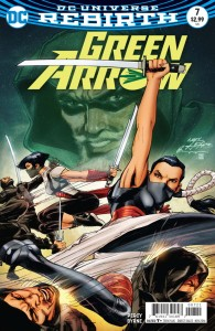GREEN ARROW #7 VAR ED
