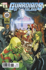 GUARDIANS OF GALAXY #15 BEST BENDIS MOMENTS VAR