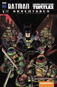 BATMAN TMNT ADVENTURES #1 (OF 6) SUBSCRIPTION VAR A