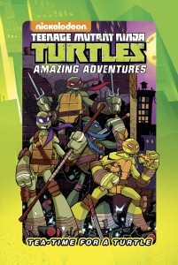 TMNT TEA TIME FOR A TURTLE HC